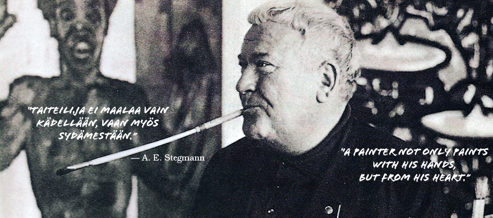 Kuva: A. E. Stegmann, 1912 — 1984, Founder and the 1st. president of VDMFK