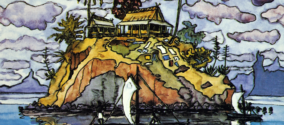 Kuva: Erich STEGMANN — Mouth painter, Germany, Fishermen´s Cottages, Madagasgar